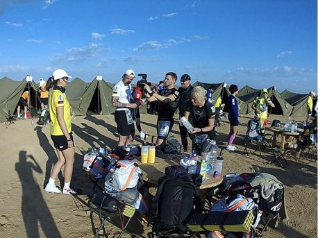 Der Little Desert Runners Club in Camp 1